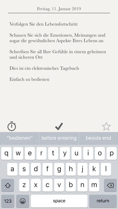 Tagebuch Ohne WerbungScreenshot von 3