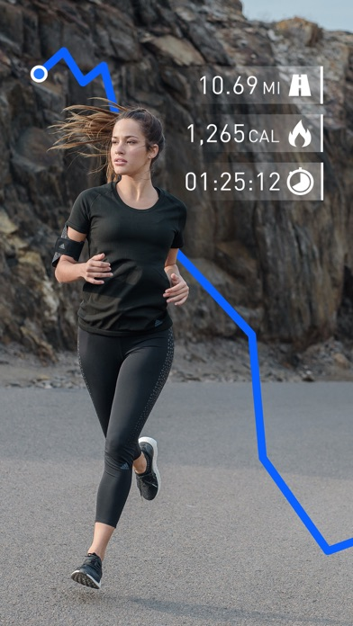 Runtastic Running Tracker PRO Screenshots