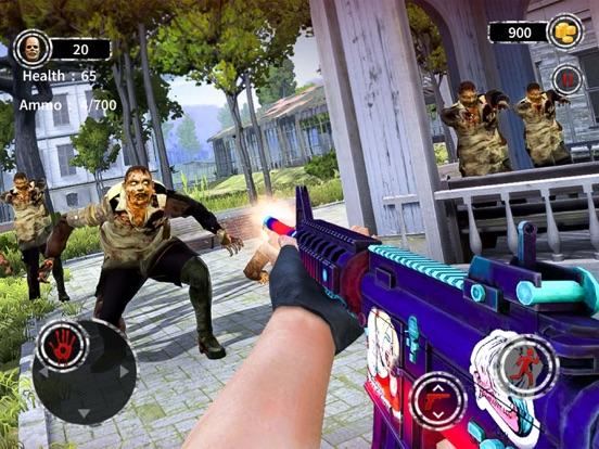 Dark City Zombie Shooting 3D screenshot 9