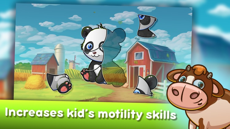 Baby Farm Puzzles screenshot-6