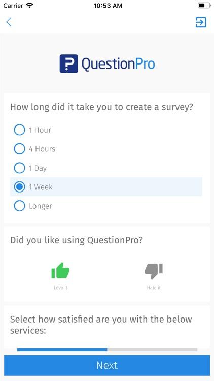 QuestionPro - Offline Surveys screenshot-4