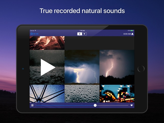 Sleep Sounds: relaxing sounds Screenshot