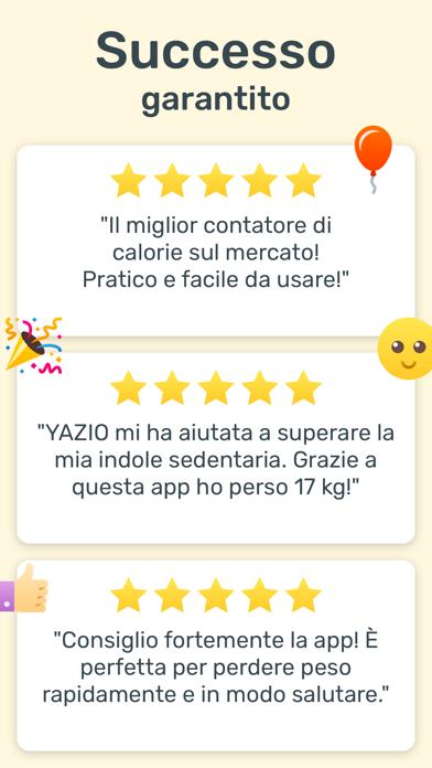Download YAZIO Conta Calorie per Dieta per Pc