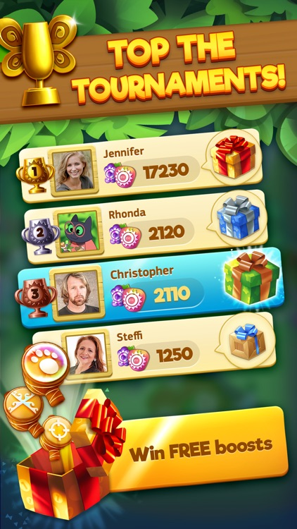 Tropicats: Match 3 Puzzle Game screenshot-4