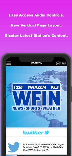 1330 WFIN on the App Store