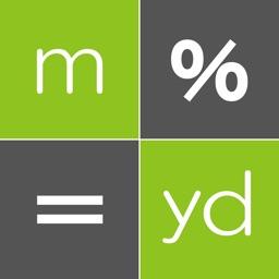 Yard Calculator -yard conv-