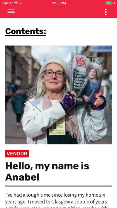 The Big Issue UK Screenshot