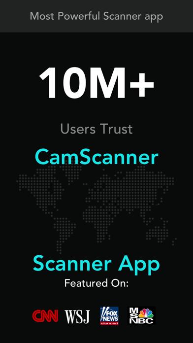 Screenshot of cam scanner+ PDF Scanner app1