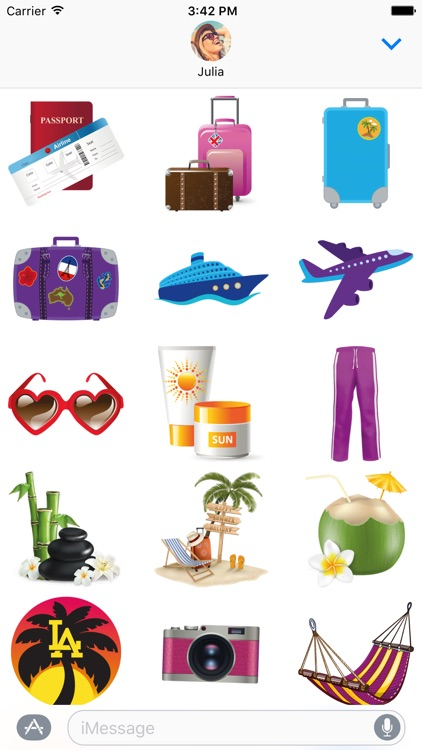 Travel Stickers – Holiday Away screenshot-3