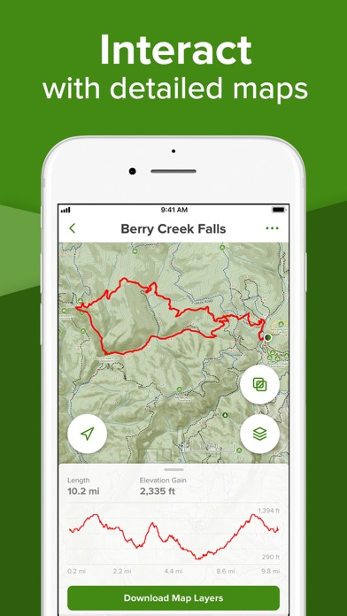 AllTrails Hiking & Mountain Biking Trails, GPS Tracker, & Offline Topo Maps screenshot