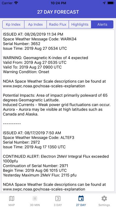 Aurora Forecast & Alerts screenshot 9