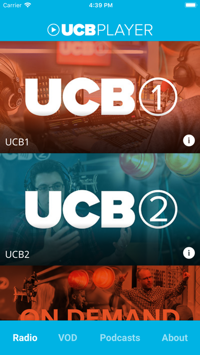 UCB Player screenshot one