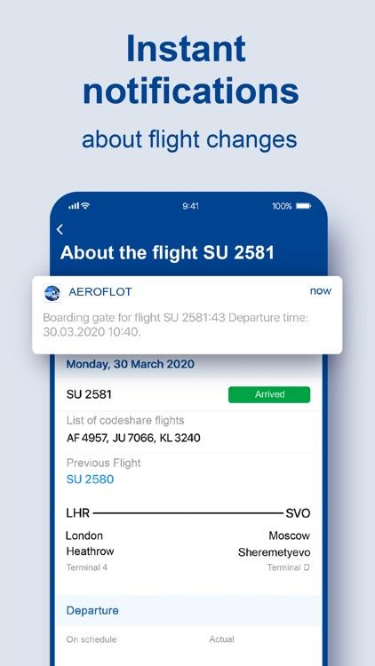 Aeroflot – air tickets online screenshot-6