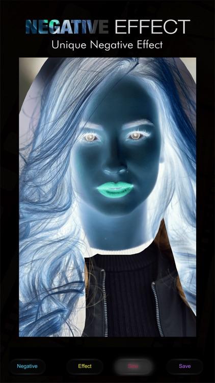 Negative Photo Effects