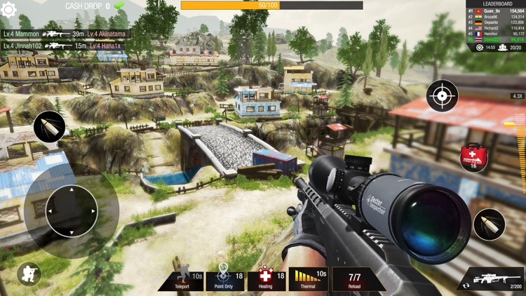 Bullet Strike: Sniper 3D PvP screenshot-3