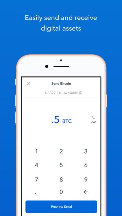 Coinbase – Buy & sell Bitcoin screenshot-4