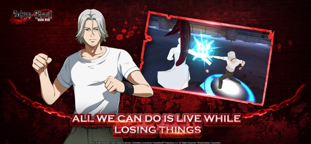 Hack Game Tokyo Ghoul: Dark War ipa free