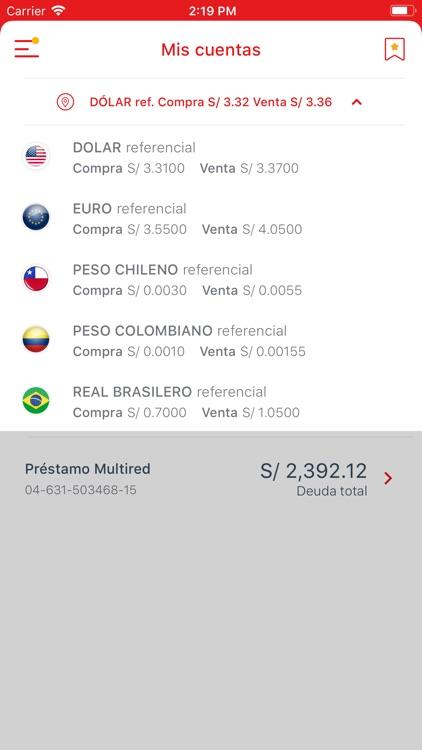 Banco de la Nación-banca móvil screenshot-7