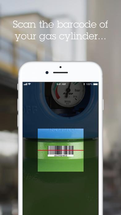 Screenshot of myGAS mobile2