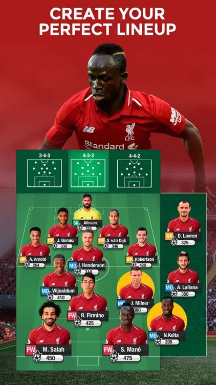 LIVERPOOL FC FANTASY MANAGER screenshot-1