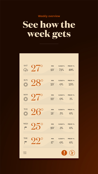 Forecast - The Weather App screenshot three