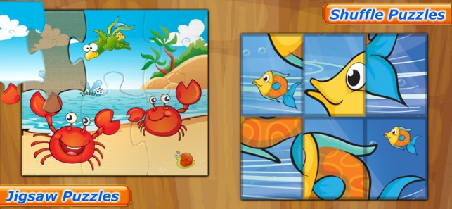 Sea Animals Puzzle for toddler Screenshot