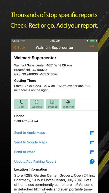 Walmart Overnight Parking