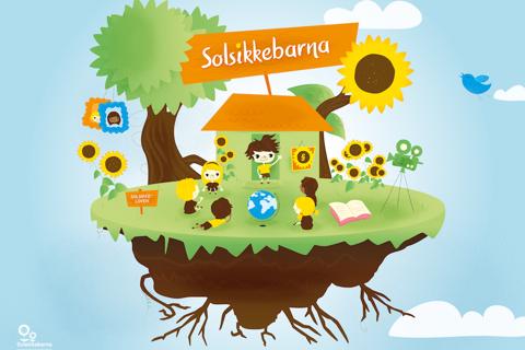Solsikkebarna - náhled