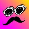 MASK-顔かくし&部分かくしスタンプアプリ - iPhoneアプリ