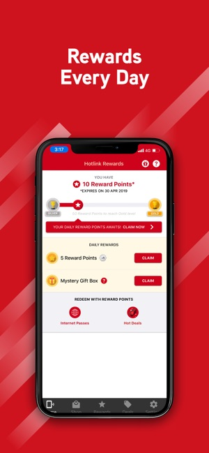 Hotlink RED on the App Store