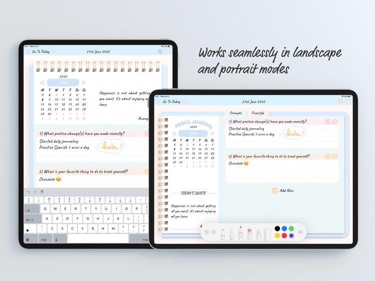 Pencil Journal - Digital Diary screenshot-4