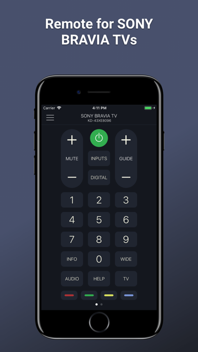 Smart TV Remote for Sony TV by Kraftwerk 9 Inc (iOS, United