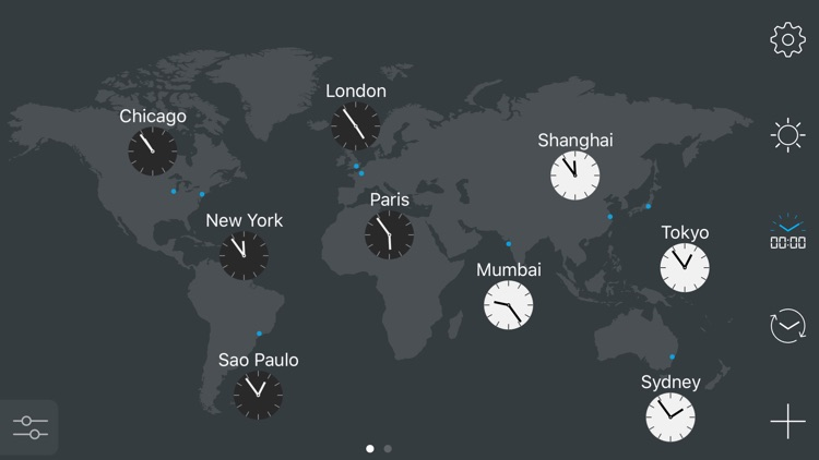 map:clock - World Map & Clock screenshot-0