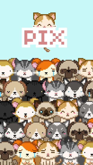 Pix! - Virtual Pet Widget Game screenshot 5