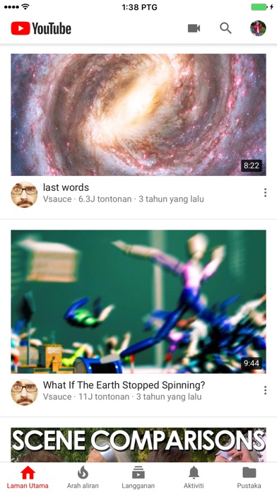 Screenshot for YouTube in Malaysia App Store