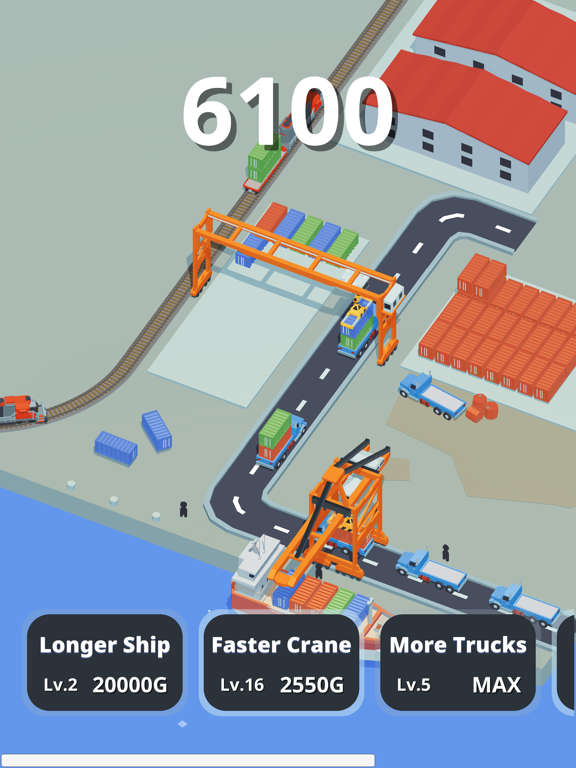 Idle Port Tycoon - Sea game screenshot 4