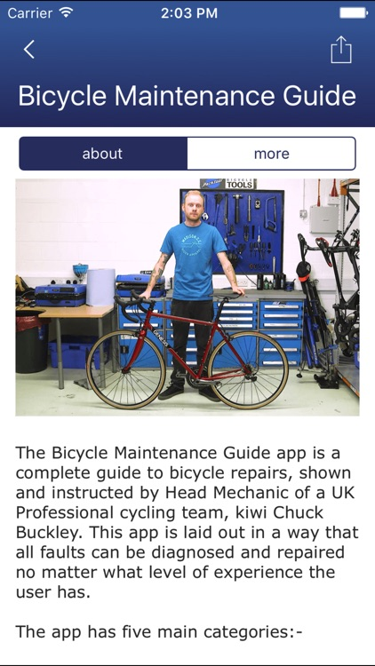 Bicycle Maintenance Guide screenshot-3