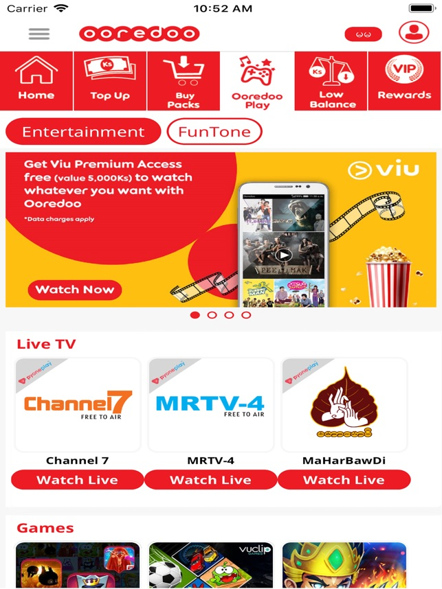 My Ooredoo on the App Store