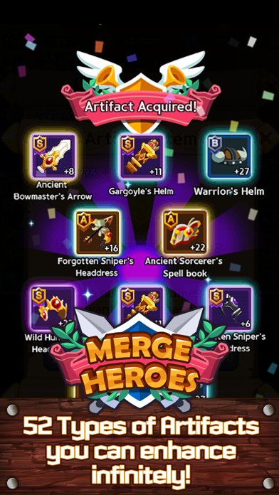 Merge Heroes Frontierのおすすめ画像4