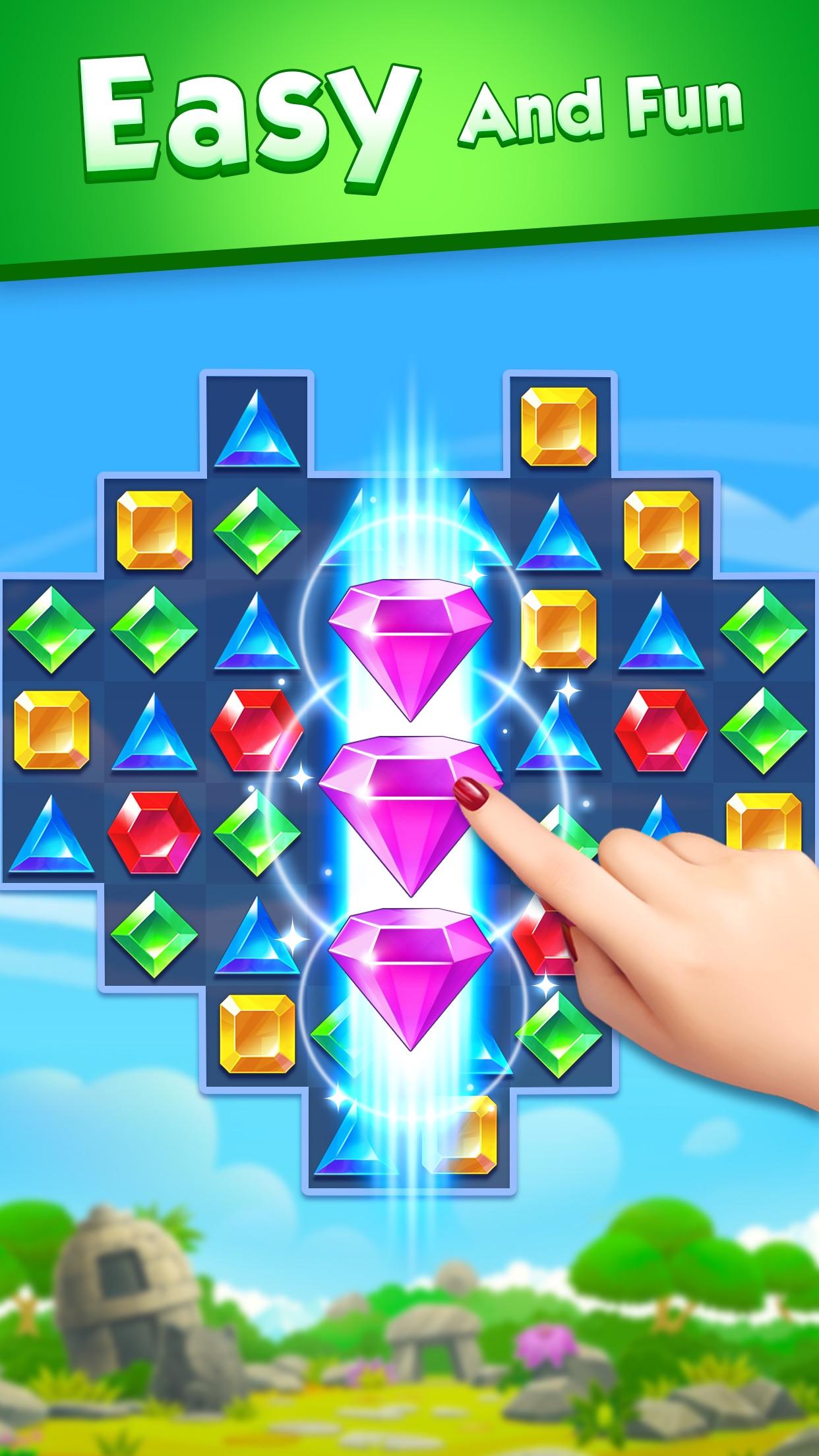Jewel World - Match 3 Games Screenshot