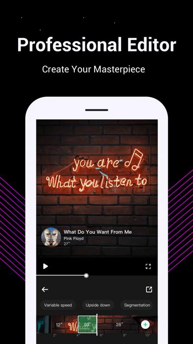 Tempo - Music Video Maker screenshot 5
