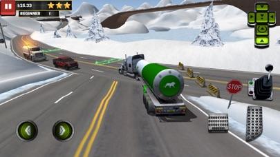 Ice Road Truck Parking Simのおすすめ画像3