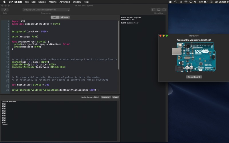 S4A IDE Lite for Mac