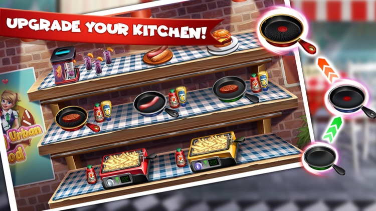 Cooking Urban Food Restaurant screenshot-7