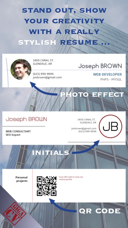 giga-cv Your resume screenshot-3