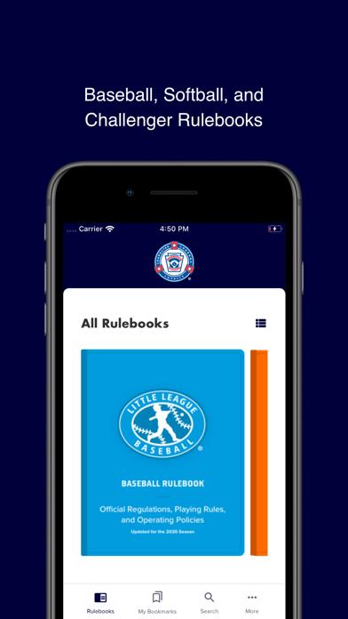 Little League Rulebook screenshot 1
