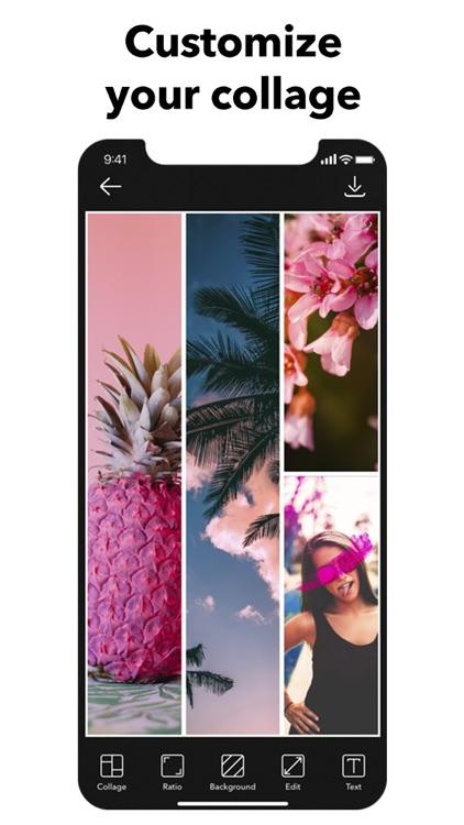 Picso Photo Collage Maker Grid screenshot-8