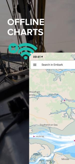 C-Map Embark: Boating on the App Store on nobeltec charts, quick charts, navionics charts, fusion charts, 4d charts, s 57 charts,
