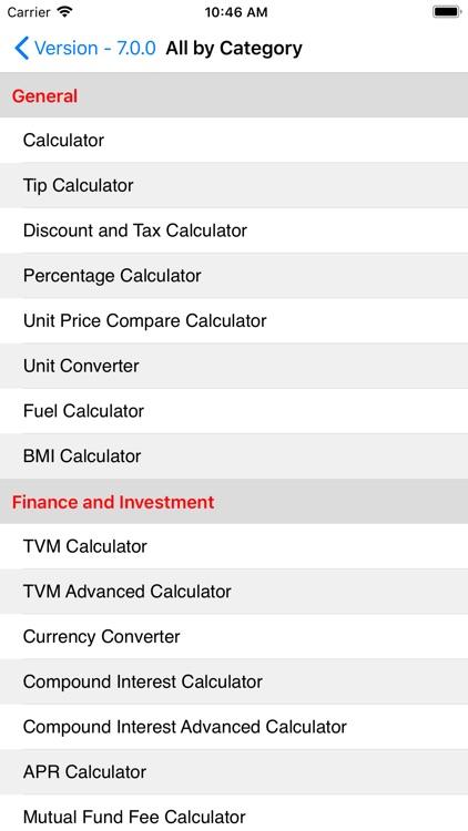 EZ Financial Calculators Pro screenshot-8