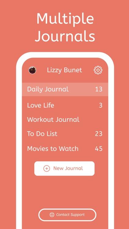 Journal X- My Personal Journal screenshot-6